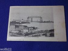 Post Card ~ Aerial Bridge Duluth, Mn ~ with Stamp Aug 1905