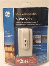 GE SILENT ALERT Wireless Alarm System Flashing LED General Electric Choice 45137