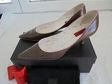 🌟 Hugo Boss Leder Business Pumps NP: 310€ TOP OVP Schuhe Luxus Gr. 39 39,5 40