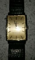 Stunning Vintage 14K Gold Omega Watch w/ Tiffany & Co. Signed