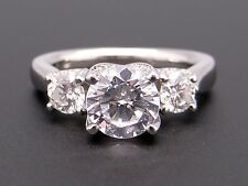 Verragio Platinum Round Diamond Engagement Promise Ring Semi Mounting ENG-0245