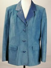 Xicola Pells Leather Suede Jacket, s/m