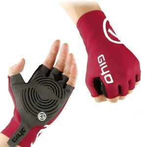 Anti-Slip Gel Pad Bicycle Gloves Short Half-Finger Breathable Cycling Gloves