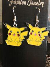 1 Pair Of Pokemon Pikachu earrings