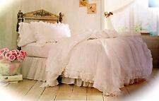 Simply shabby chic ruffle Lace duvet cover set full queen Rachel Ashwell F/q