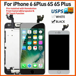 Replacement+Camera For iPhone 6/6S Plus LCD Display Touch Screen Assembly US