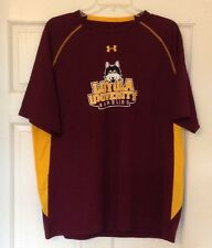Under Armour Loose Xlg Long Sleeve Men'S Gold Maroon Ramblers