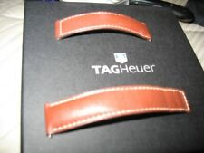 TAG HEUER BROWN COLOR LEATHER IN VERYGOOD CONDITION