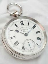 Fusee Pocket Watch.Gents Silver case. Dewsbury (FULL WORKING ORDER) *1881*