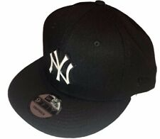 New York Yankees MLB Baseball New Era 9Fifty Metal Thread Black Snapback Hat Cap