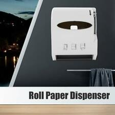 Commercial Wall Mount Kitchen Toilet Roll Paper Towel Holder Tissue Dispenser Us