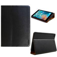 Leder Schutzhülle f. Apple iPad Mini 123 Tablet Tasche Cover Case schwarz +Folie
