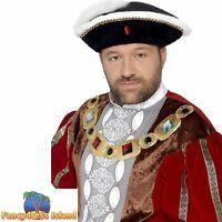 Robin Hood Hat Fairytale Storybook Fantasy Medieval Men/'s Fancy Dress Costume