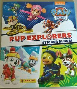 Panini Paw Patrol PUP EXPLORERS Single Stickers x 20 Pick from List Below
