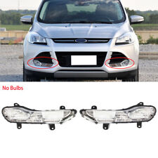 Fit For Ford Kuga Escape 2013-2016 Left Right Front Bumper Fog Light No Bulbs