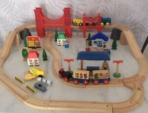 Wooden Train Set Joblot/Bundle Brio & Compatible in Great Condition