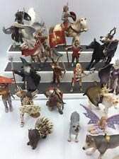 LOT OF Schleich/Papo Medieval Fantasy Figures Horses Fairies Knights