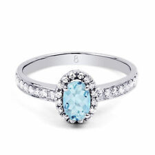 Aquamarine White Diamond Fine Jewellery