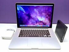 15 MacBook Pro RETINA OSX 2015 / Upgraded 2.6Ghz Core i7 / 16GB / 512GB / Wrnty