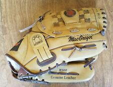 """Macgregor M500 93951 13"""" Right Handed Throwers Baseball Glove Good Shape!"""