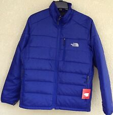 NWT The North Face TNF Bolt Blue Puffer Mens Brecon Large Jacket Coat $150