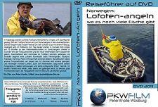 Lofoten angeln DVD: wo es noch genug Fische gibt, Norwegen DVD Skandinavien DVD
