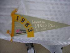 Vintage Pikes Peak Pennant