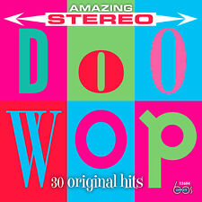 New CD Amazing Stereo Doo-Wop: 30 Original Hits 19 Stereo Debuts All Cuts Stereo
