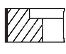 MAHLE ORIGINAL Piston Ring Kit 030 48 N0