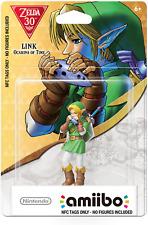 Ocarina of Time Amiibo  LINK / ZELDA BOTW  - NOT Figurine/statue SUPER SMASH