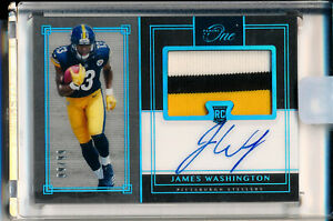 2018 Panini One James Washing RC Rookie 40 Blue Jersey Patch Auto # 99/99 Last 1