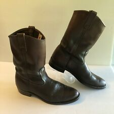 Vtg Red Wing PECOS Nailseat Engineering Motorcycle Boots,90's 1155 Size 10 B