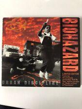 Biohazard Urban Discipline Ltd Digipack Cd Extra Tracks Rare