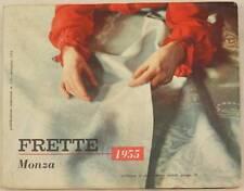 FRETTE MONZA CATALOGO 1955 BIANCHERIA CASA INTIMA CORREDO LINEN CHILDREN LAYETTE