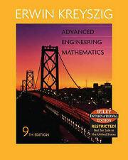 Advanced Engineering Mathematics, Good Condition Book, Erwin Kreyszig, ISBN 9780