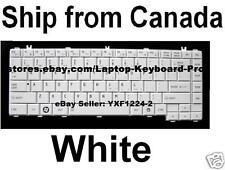 Toshiba Satellite L730 L730D L735 L735D L740 L740D L745 L745D Keyboard White US