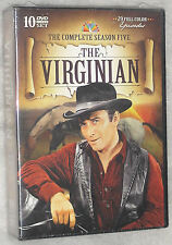 The Virginian - Complete Season Series Five 5 - DVD Box Set