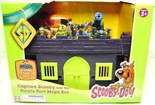 CAPTAIN SCOOBY DOO PIRATE FORT MEGA SET Toy Figures TV Character Pirates New I