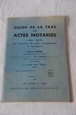 Guía impuesto de actes obras de 1968 tarifas de cuota rectos hipoteca