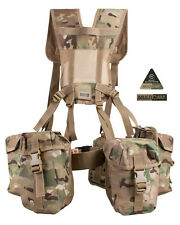 Army Military Combat Full Webbing Belt Set System New DPM Multicam Multi Cam