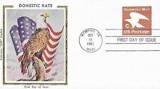 "U.S. 1981 New Rate ""C"" (20c) Postal Stationary #U594 on a Colorano FDC Cachet"