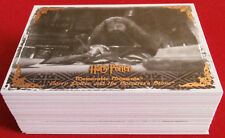 HARRY POTTER - MEMORABLE MOMENTS #2 - COMPLETE BASE SET - 72 cards ARTBOX - 2009