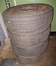 """SAAB Satz Winterreifen Reifen ET37 15"""" 195-65 R15 MS DOT 5210 2150246"""