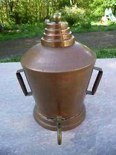 Fontaine de table rafraichissoir en cuivre étamé XIXème/eau de vie/alcool/vin