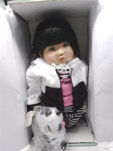 """Paradise Galleries Reborn Asian Baby Doll """"Bamboo"""" - 20 inch Chinese Girl Doll"""