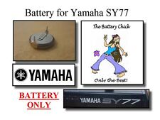 Battery for Yamaha SY77 Synthesizer - Internal Memory Replacement Battery