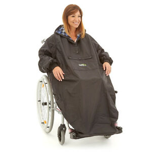 Climpson ComfiCosy Deluxe Waterproof Raine Cover Wheelchair Cape Poncho