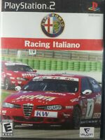 Alfa Romeo Racing Italiano Playstation 2 PS2 Game Complete