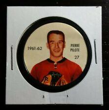 1961-62 Shirriff / Salada Coin #27 Pierre Pilote Chicago Blackhawks HOFer
