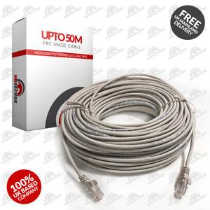 3M 5M 10M 15M 20M 30M 40M 50M LONG NETWORK ETHERNET Cable INTERNET Wire LAN CAT5